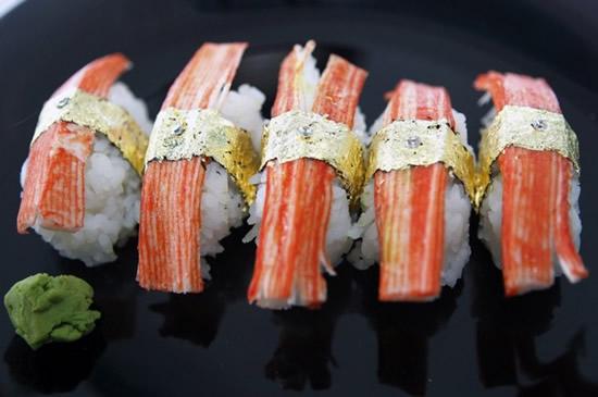 sushi lapis emas