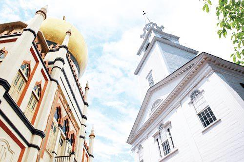 Gereja & Masjid