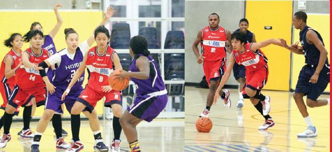 Pertandingan Basket