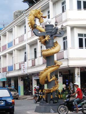 Tugu Naga di Singkawang