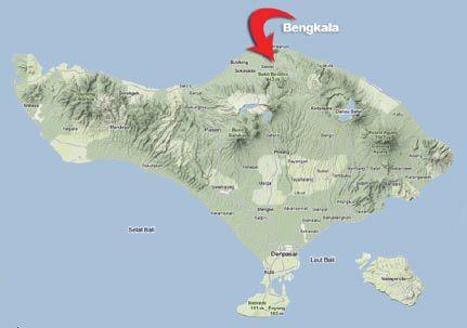 Peta Desa Bengkala