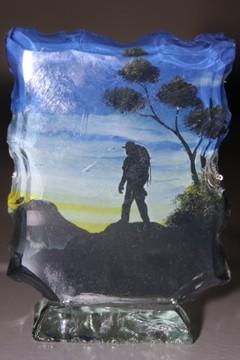 Kreasi dari pecahan kaca
