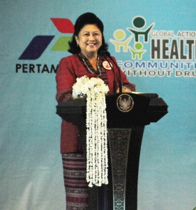 Ibu Negara Hj Ani Bambang Yudhoyono