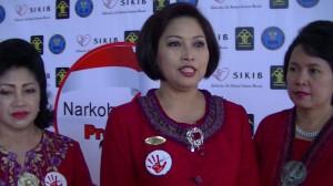 Ketua II SIKIB, Ibu Ratna R Djoko Suyanto