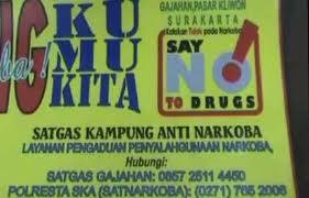 Satgas Kampung Anti Narkoba