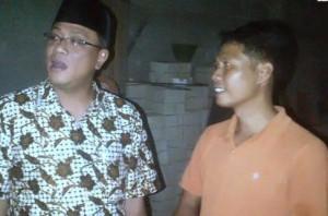 Kepala BNP2TKI Jumhur Hidayat dan Zacky mantan TKI (foto :Liputan6.com/Moch Harunsyah)
