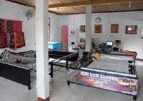 Mesin batik kelowong