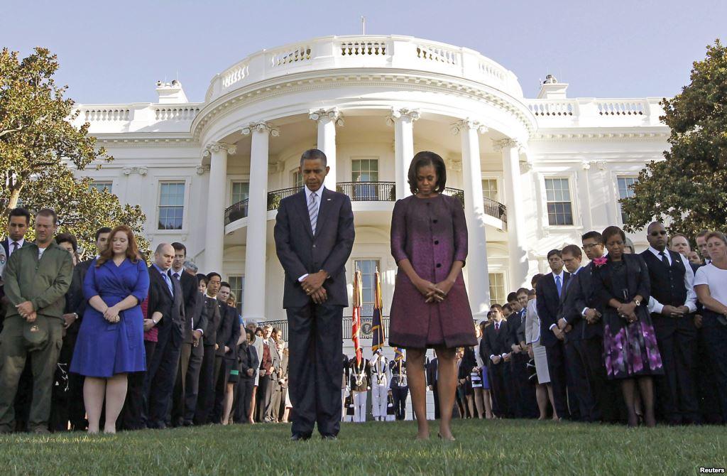 Obama dan warga AS peringati 11 september