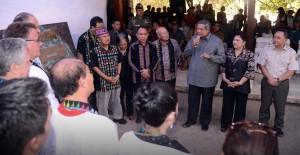 Presiden SBY didampingi Ibu Negara,  menghadiri inagurasi Pulau Komodo sebagai  1 dari 7 Keajaiban Dunia.