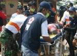 Kegiatan PMI DKI saat musibah banjir.