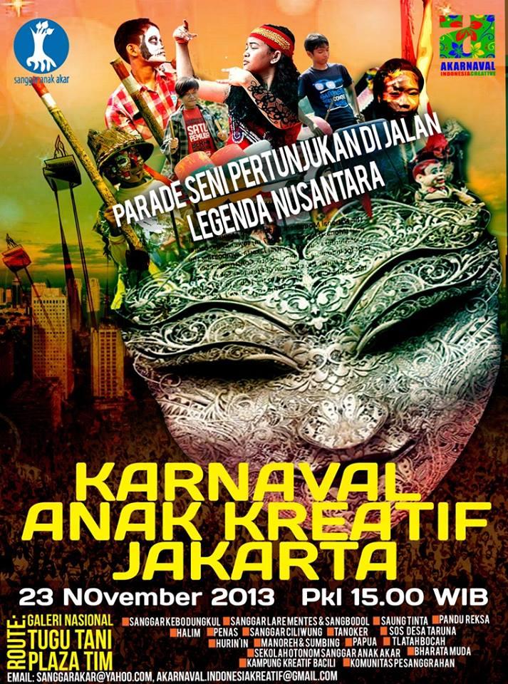 Karnaval anak kreatif Jakarta