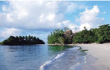 Pantai Lagoi Bintan, kepulauan Riau