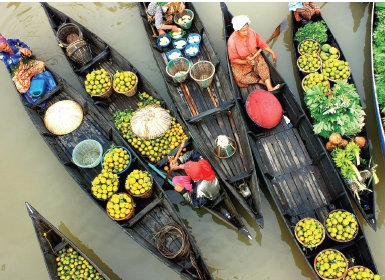 Pasar Apung Muaa Kuin, Banjamasin