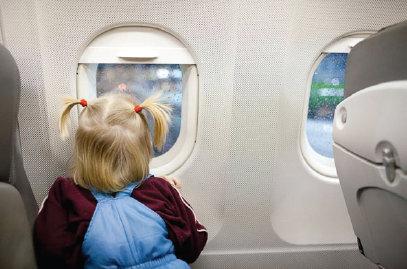 Anak di Pesawat Terbang