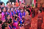 Ibu Negara meresmikan pembukaan SIKIB EXPO 2014.