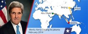 Menlu AS, John Kerry Kunjungi Asia