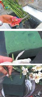 Proses pembuatan Bunga