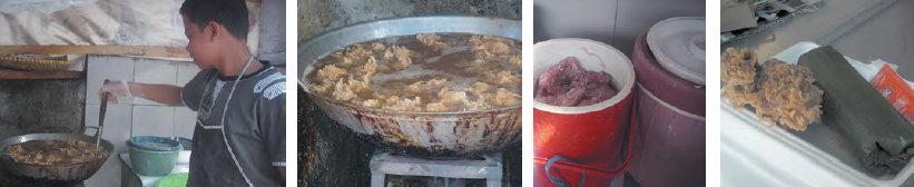 proses pembuatan nasi timbel