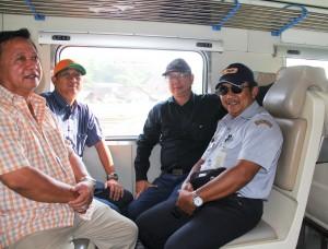 Bersama sebagian kontraktor Semarang-Brojonegoro.