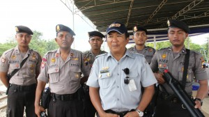 Bersama tim Polda Jawa Tengah.