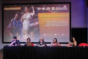 konferensi pers Dangdut in Amerika
