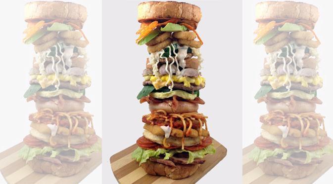 burger Alfabet