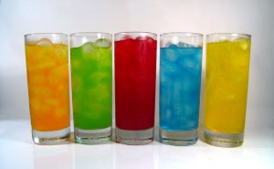 sirup berwarna