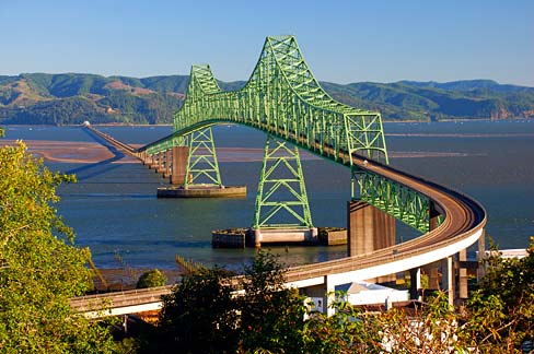 Jembatan Astoria - Megler Oregon dan Washington