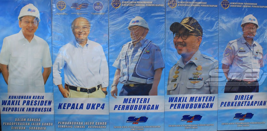 Tokoh-tokoh Penentu Suksesnya Jalur Ganda Cirebon-Surabaya.