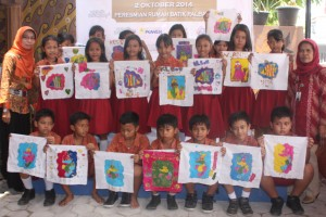 karya batik anak-anak