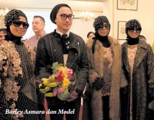 Barli Asmara dan Model