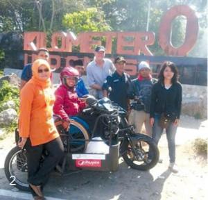 Sri Lestari - Saat perjalanan hingga ke Aceh