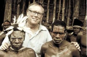 Saat kunjungan ke Papua Barat pada tahun 2009