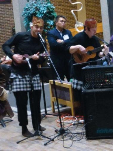 Keroncong bersama Pak Ngurah dan NIU World Musik Ensemble