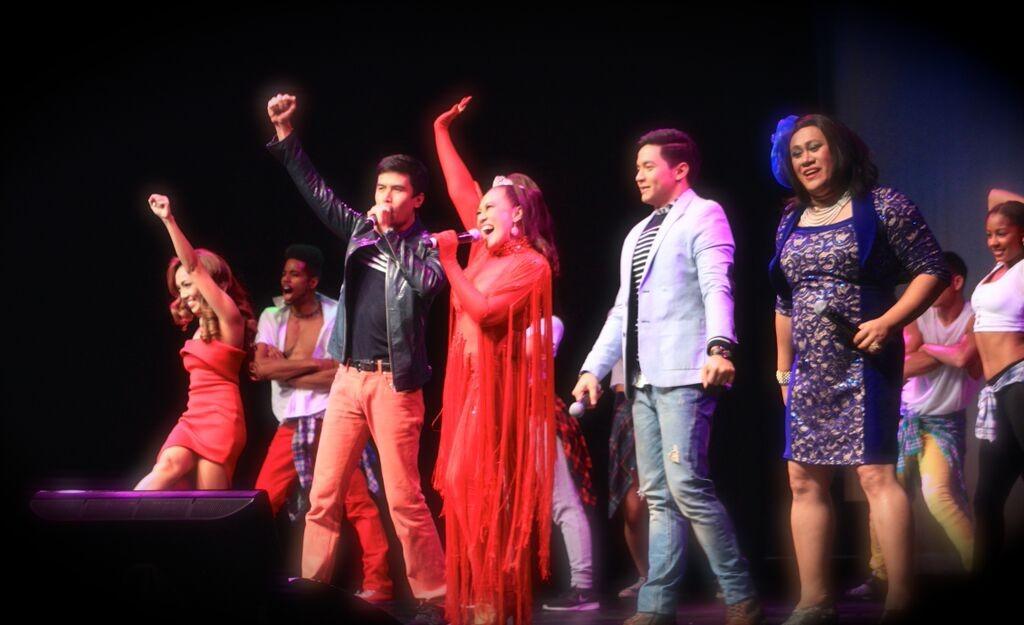 (ki-ka) Jonalyn Viray, Christian Bautista, Ai-Ai Delas Alas, ALden Richards, dan Betong Sumaya