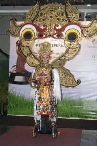 National Costume - 'Mythical Eyes On Barong