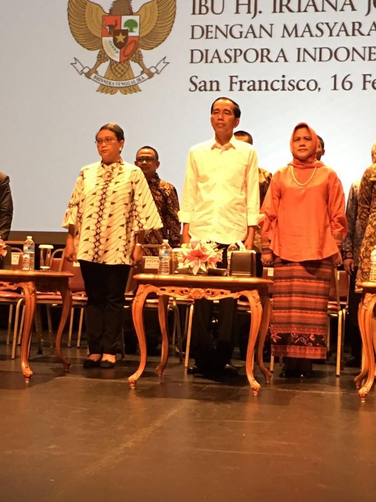 Kunjungan Presiden Jokowi ke San Fransisco