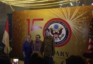 Perayaan 150 tahun Konjen AS di Surabaya