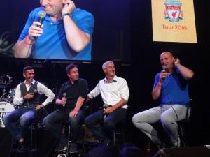 Luis Garcia, Robbie Fowler, Ian Rush, dan Gary McAllister (ki-ka)