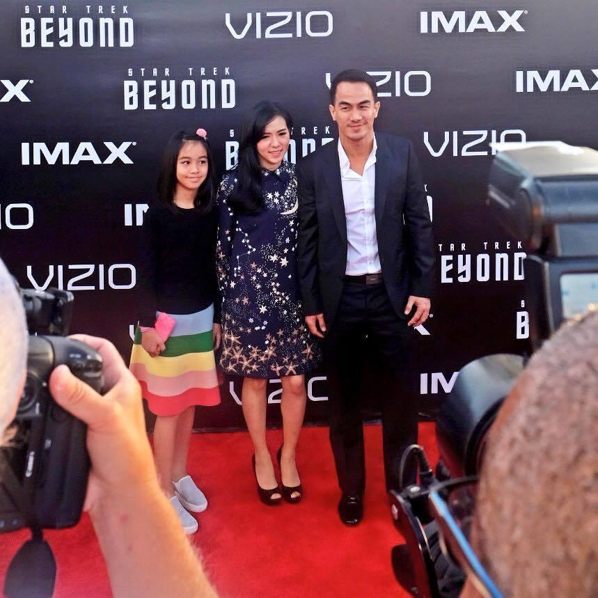 Saat menghadiri premiere Star Trek Beyond di San Diego (Dok. Joe Taslim)
