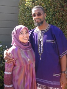 Nana Firman bersama suami