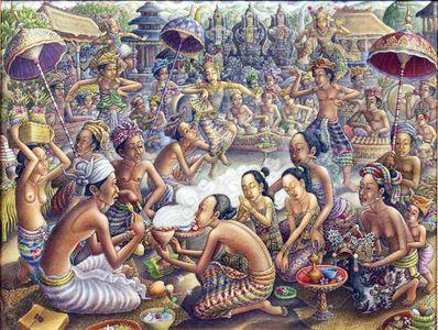 Warna Pita Maha Ubud di lukisan Padangtegal Terkini - Kabari News
